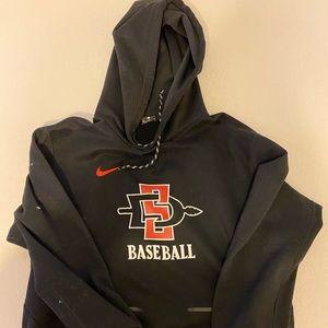 San Diego State Baseball official team Nike hoodie